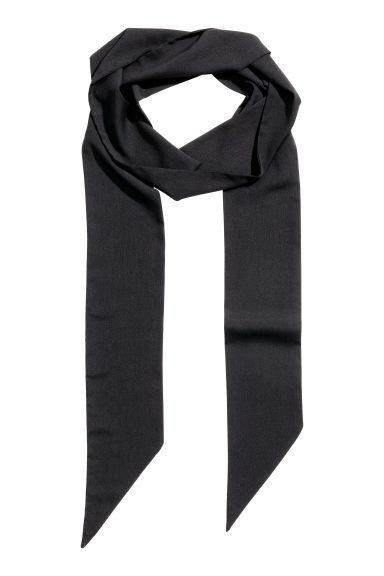 Narrow scarf - Black - Ladies | H&M GB