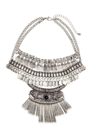 Short necklace - Silver - Ladies | H&M CN