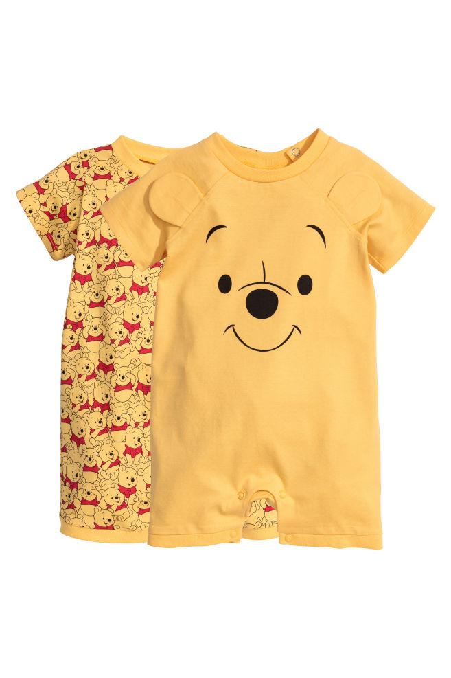 2 db-os pizsama szett - Sárga Micimackó - GYEREK  b79e96a841