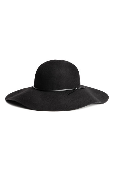 Wool hat - Black - Ladies | H&M GB