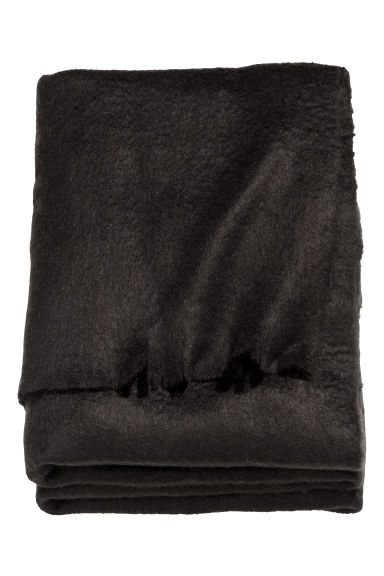 Couverture douce - Noir - Home All | H&M CA