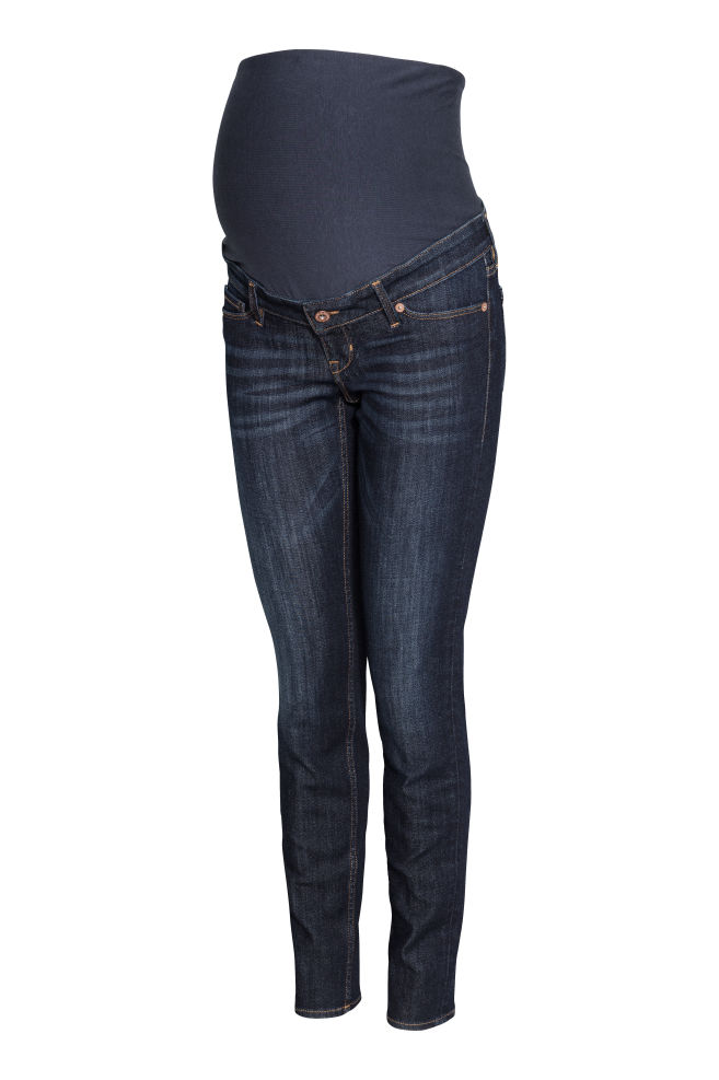 2a263ad3e MAMA Skinny Jeans - Azul denim oscuro - MUJER