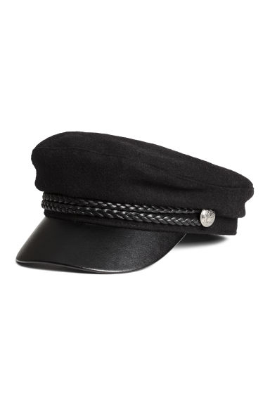 Captain's cap - Black - Ladies | H&M GB