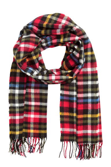 Scarf - Multicoloured/Checked -  | H&M
