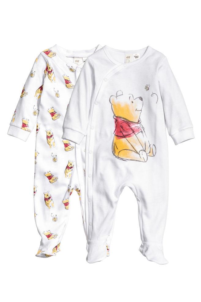 1ba243927532 2-pack pyjamas - White Winnie the Pooh - Kids