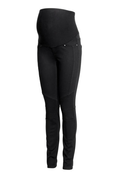MAMA Treggings tipo biker - Nero - DONNA | H&M IT