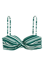 Emerald green/Striped