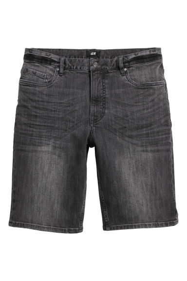 Shorts in jeans - Nero Washed out -  | H&M CH