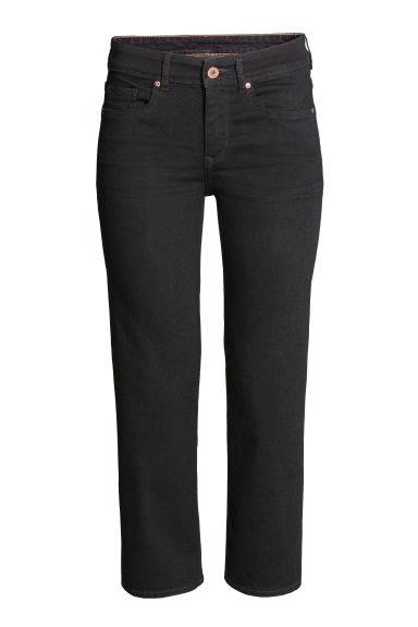 Kick Flare Ankle Jeans - Black -  | H&M