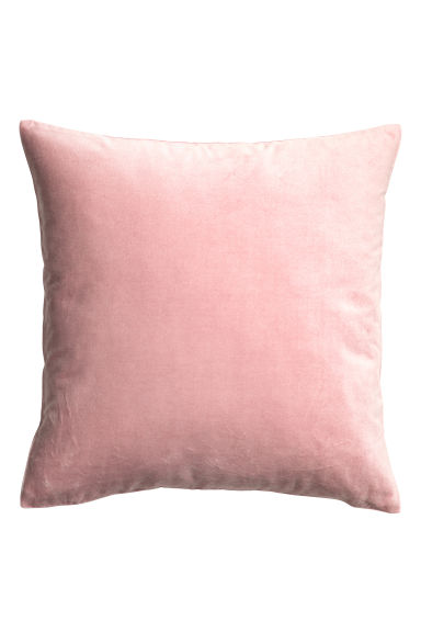 Copricuscino in velluto - Rosa chiaro - HOME | H&M IT