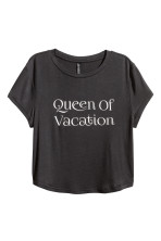 Noir/Queen of vacation