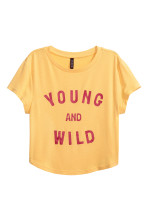 Jaune/Young and wild