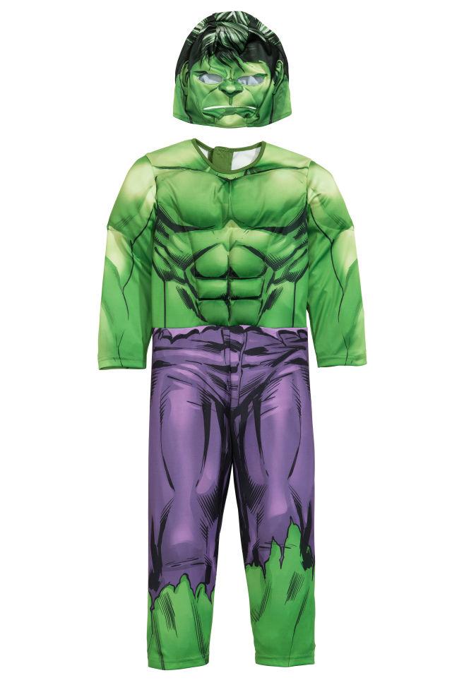 6c7954cd4e60f Costume de super-héros - Vert Hulk - ENFANT