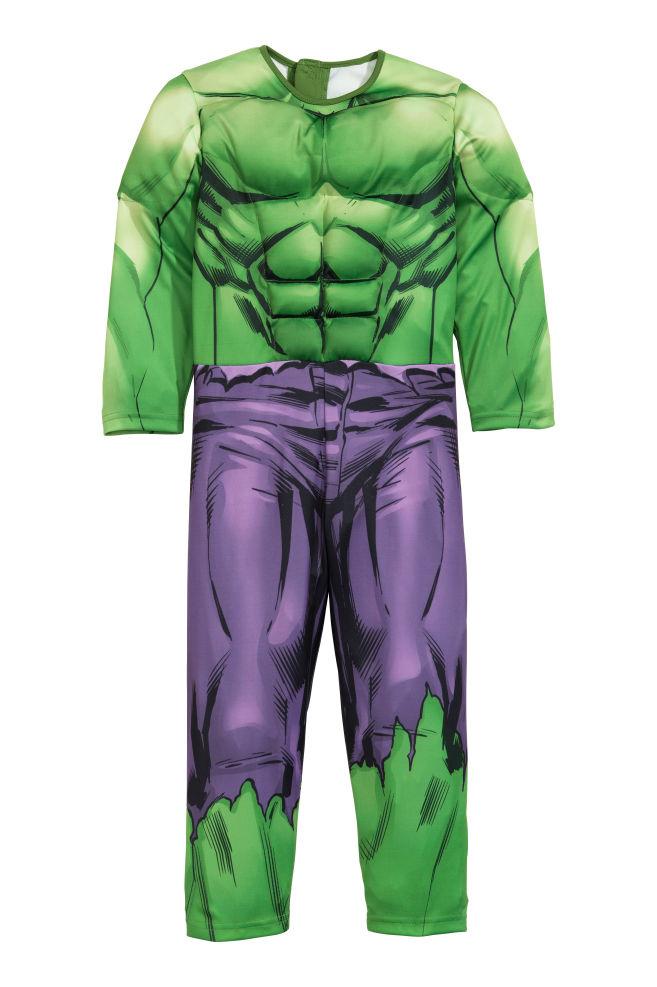 Disfraz de superhéroe - Verde Hulk - NIÑOS  d85bec53a572