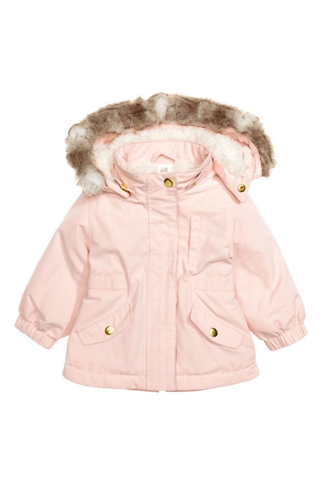828abba2b Padded parka - Light pink - Kids
