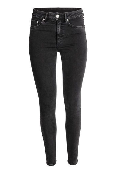 Skinny High Jeans - Black -  | H&M