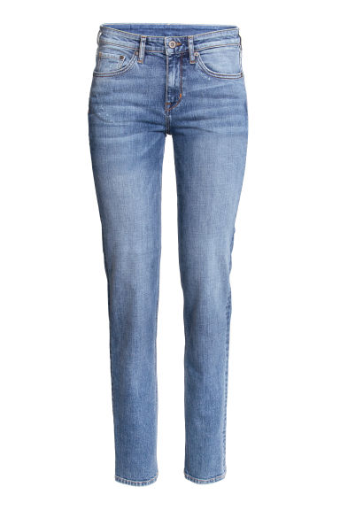 Straight Regular Jeans - Denim blue -  | H&M CZ