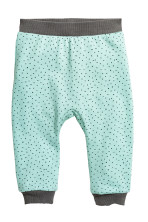 Mint green/Spotted