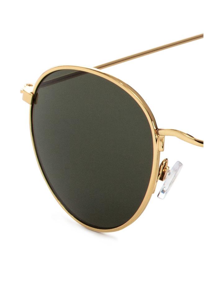 6e11e6965093d ... Óculos de sol - Dourado Verde escuro -