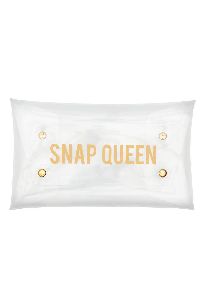 37f6fd650 Bolso de mano transparente - Transparente - MUJER | H&M ...