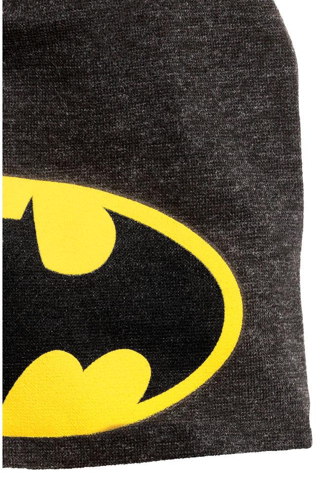 48b03ba84 Džersejová čiapka - čierna/Batman - DETI   H&M ...