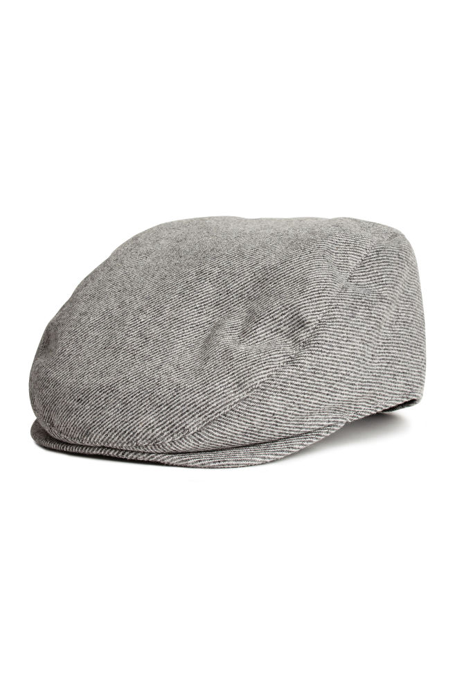 eadc329ec2e20 Flat cap - Grey marl - Men
