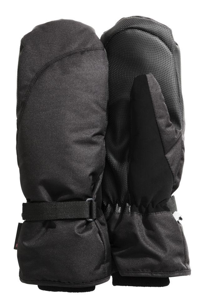 81657ac34 Ski mittens - Black - Ladies | H&M ...
