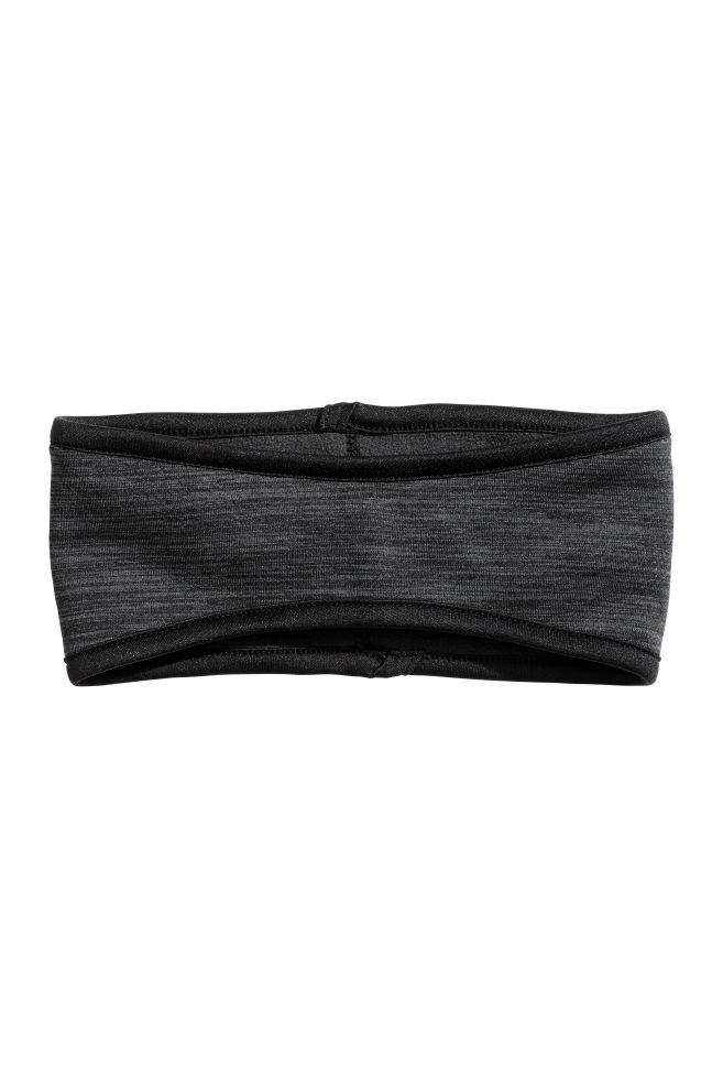 Fleece headband - Black marl - Ladies  e4cd8021ae9