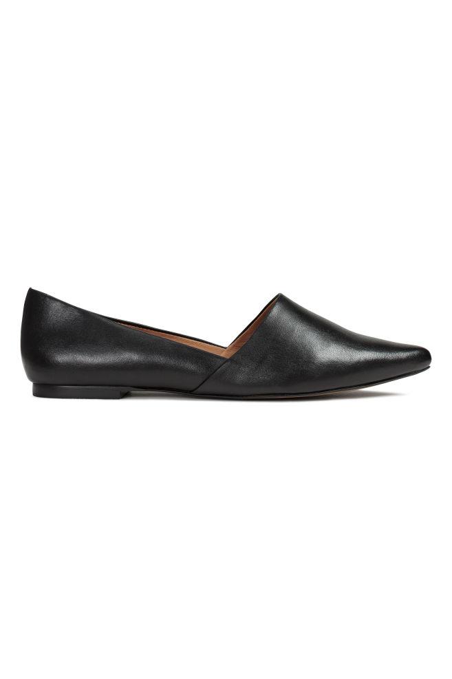 6b1cd3641 Sapatos rasos - Preto - SENHORA | H&M ...