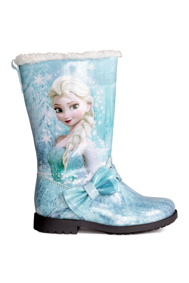 Pile-lined boots - Light Turquoise/Frozen - Kids | H&M CN
