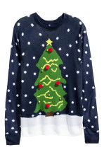 Dark blue/Christmas tree