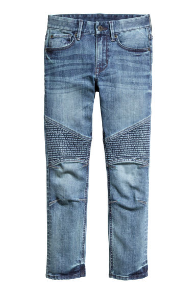Skinny Fit Generous Size Jeans - 牛仔蓝 - Kids | H&M CN