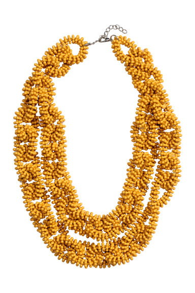 Two-strand necklace - Yellow - Ladies | H&M CN