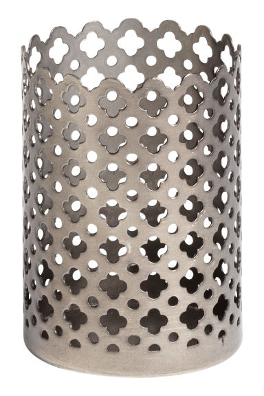 Small tealight holder - Silver - Home All | H&M GB