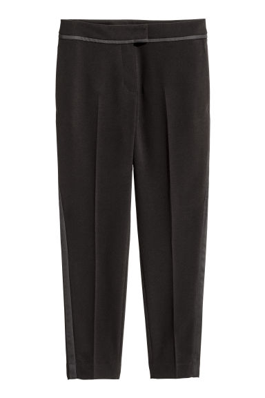 Pantaloni da smoking - Nero - DONNA | H&M IT