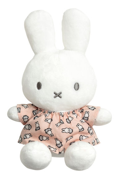 Animaletto di peluche - Bianco/Miffy -  | H&M IT