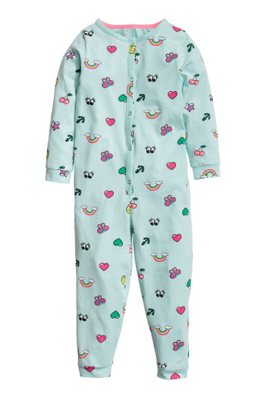 Jersey pyjamas - Mint green - Kids | H&M