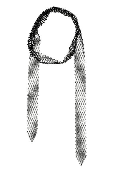 Collar de strass - Negro - MUJER | H&M ES