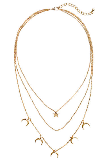 Multistrand necklace - Gold - Ladies | H&M CN