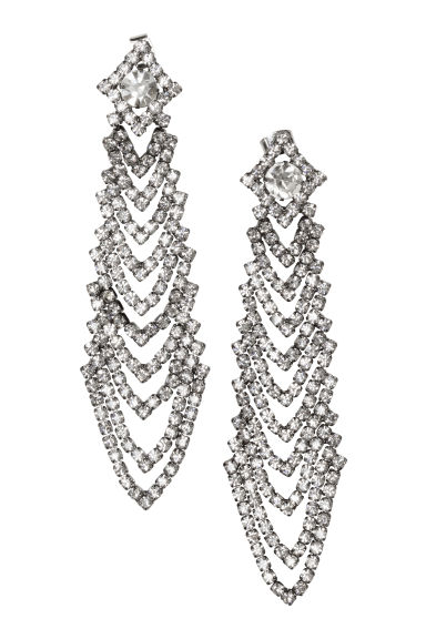 Long earrings - Silver - Ladies | H&M GB