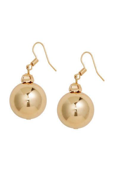 Round earrings - Gold - Ladies | H&M GB