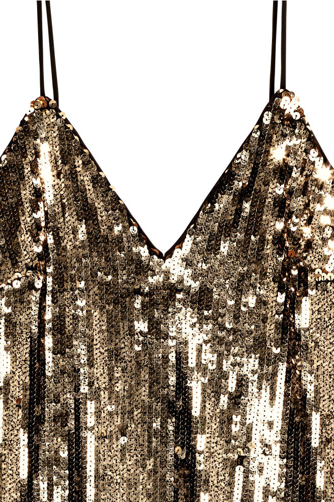 28be63b7dc Flitteres ruha - Arany - NŐI | H&M HU