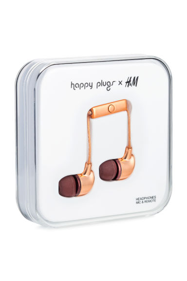 In-ear headphones - Copper - Men | H&M IE