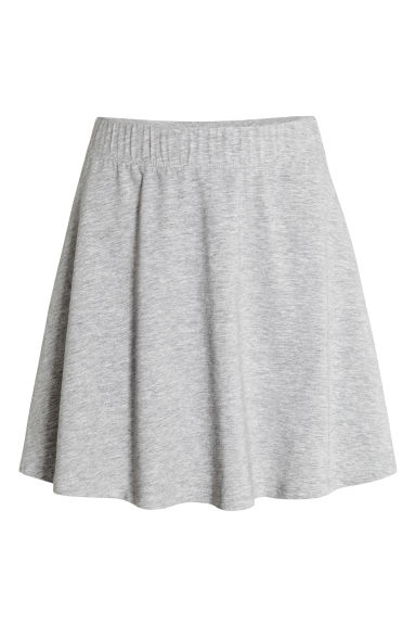 Bell-shaped skirt - Grey marl - Ladies | H&M IE