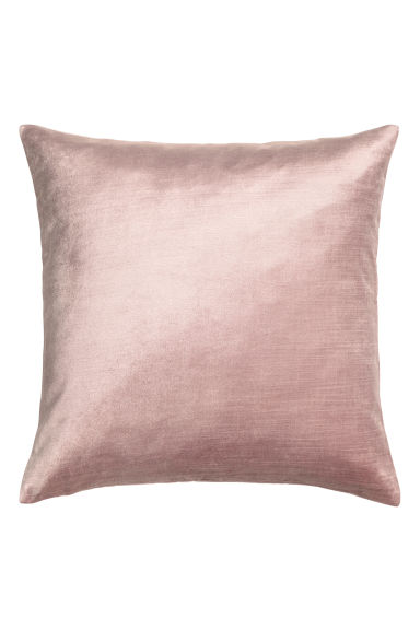 Velvet cushion cover - Light pink - Home All | H&M IE