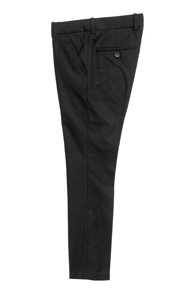 4ee70b9df7 ... Öltönynadrág - Fekete - GYEREK | H&M ...