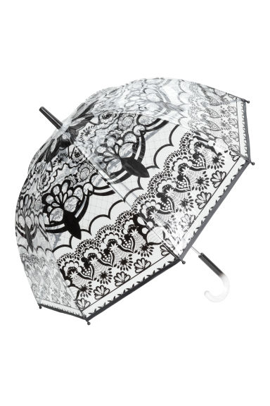 Umbrella - Black/Lace - Ladies | H&M