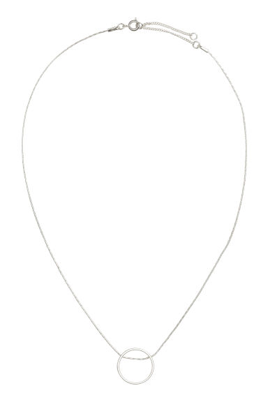 Necklace with a pendant - Silver - Ladies | H&M