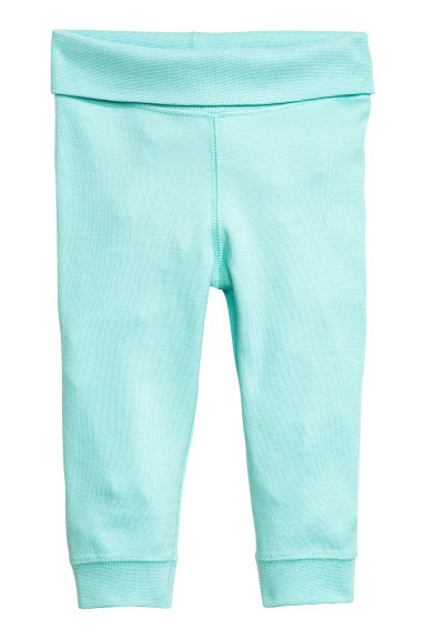 Jersey trousers - Mint -  | H&M CN