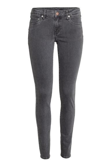 Super Skinny Low Jeans - Denim gris oscuro - MUJER | H&M ES